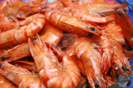 Shrimp stock photo, Yummy steamed shrimp served in a bowl by Jonas Marcos San Luis