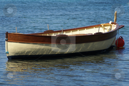 Fisher boat stock photo, Traditional fisher boat in Provence (South of France) by Serge VILLA
