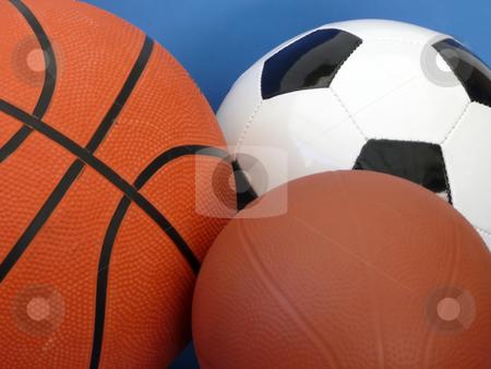 Sports Balls stock photo,  by Corinna Walby