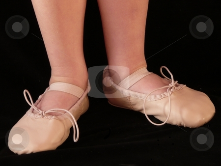 Ballet Slippers stock photo,  by Corinna Walby