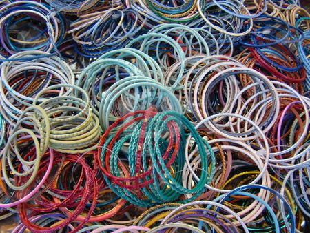 Bangles stock photo, Bangles by CHERYL LAFOND