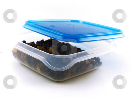 Raisins, Sultanas and Dried Fruit in Tupperware stock photo, Raisins, Sultanas and Dried Fruit in Tupperware by Robert Davies