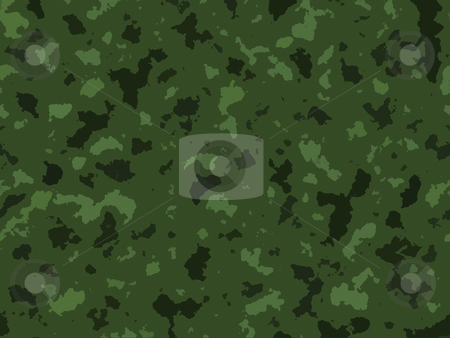 Green Jungle Army Camouflage  Background Texture Design stock photo, Green Jungle Army Camouflage  Background Texture Design by Robert Davies