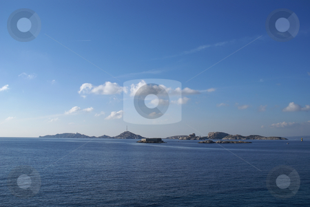 Frioul Island stock photo, Frioul Island located in front of the city of Marseilles. (South East of France) by Serge VILLA