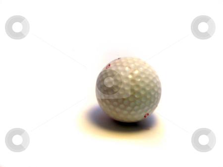 Golf Ball stock photo,  by Corinna Walby
