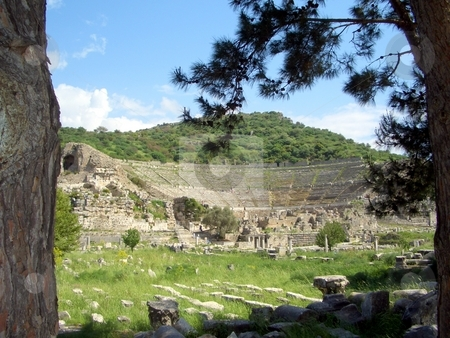 Ruins in Turkey stock photo,  by Jan Kraus