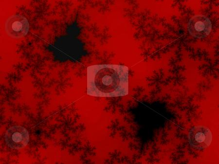 Deep Red Fractal Design Illustration Detailed stock photo, Deep Red Fractal Design Illustration Detailed Background Patter by Robert Davies