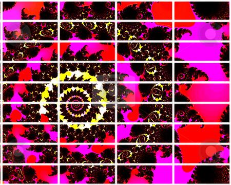 Pink Fractal Design 2d Buttons For Website Navigation stock photo, Pink Fractal Design 2d Buttons For Website Navigation by Robert Davies