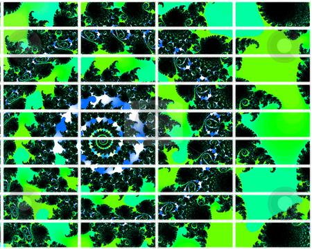Green Fractal Design 2d Buttons Selection For Website Navigation stock photo, Green Fractal Design 2d Buttons Selection For Website Navigation by Robert Davies