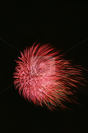 Fireworks 2 stock photo, Bright colorful fireworks isolated against a black sky by Jonas Marcos San Luis