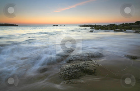 Twilight Tides stock photo, Before the sun rises over Horseshoe Bay, South Australia. by Mike Dawson