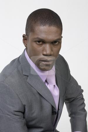 Black Businessman stock photo, Black Business man by Csaba Fikker