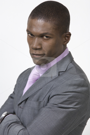 African American Professional stock photo, Black Business man by Csaba Fikker