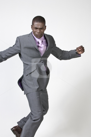 Black Businessman stock photo, African american Businessman by Csaba Fikker