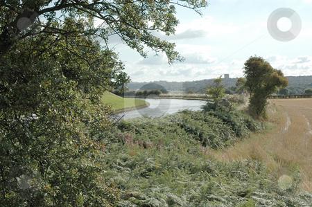 Bridgewater Canal stock photo, Bridgewater canal at Daresbury, Cheshire UK by Ray Roscoe