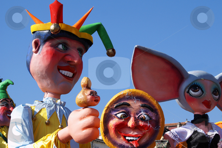 King carnival stock photo, Carnival in the city of Nice (French Riviera) in february 2008 by Serge VILLA