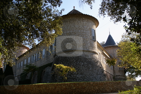 Tower stock photo, Tower of an old castle located in Mouans-Sartoux , French Riviera by Serge VILLA