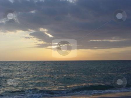 Sunset Beach stock photo,  by Lori Kirk