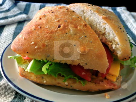 Sandwich stock photo,  by Corinna Walby