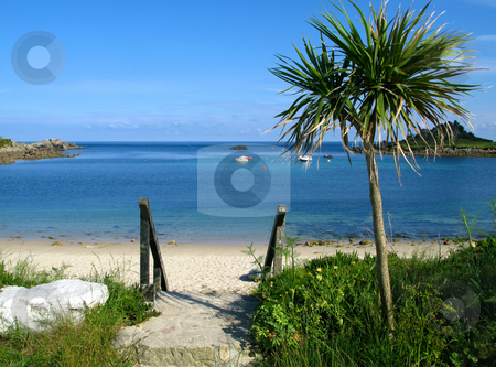 Old town beach in St. Mary's, Isles of Scilly. stock photo, Old town beach in St. Mary's, Isles of Scilly. by Stephen Rees