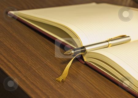 Diary  stock photo,  by Sinisa Botas