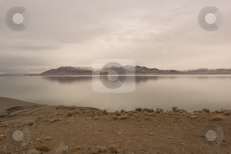 Pyramid Lake stock photo, Pyramid Lake is an endorheic salt lake, approximately 188 square miles (487 km?) in area, in the Great Basin in the northwestern part of the U.S. state of Nevada by Mariusz Jurgielewicz