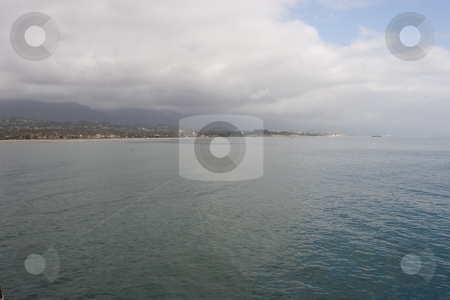 Santa Barbara Coast stock photo, Coast along southern Santa Barbara County is often referred to as the
