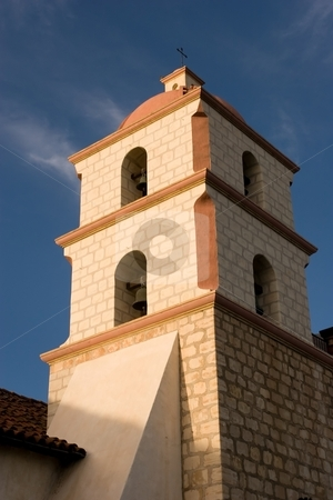 Mission Santa Barbara stock photo, Mission Santa Barbara is a Spanish Franciscan mission near present day Santa Barbara, California. by Mariusz Jurgielewicz
