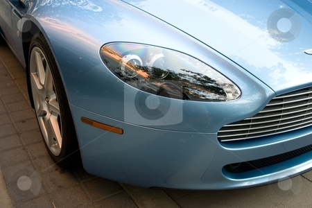 Vantage stock photo, Aston Martina Vantage - James Bond vehicle by Mariusz Jurgielewicz