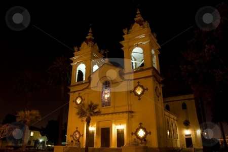 Five Wounds Portuguese National Church stock photo, The Five Wounds Portuguese National Church is the heart and soul of the Portuguese Community in Santa Clara Valley. by Mariusz Jurgielewicz