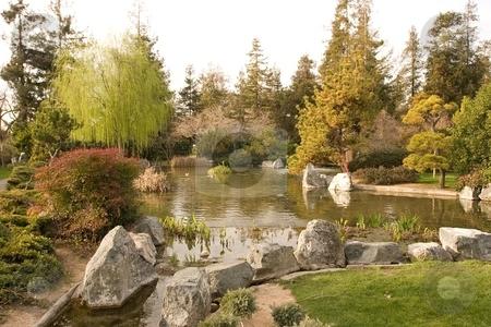 Japanese Friendship Garden stock photo, Japanese Friendship Garden is a walled section of Kelley Park in San Jose, California by Mariusz Jurgielewicz
