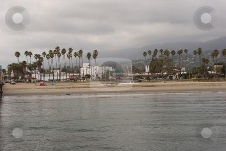 Santa Barbara Coast stock photo, Coast along southern Santa Barbara County is often referred to as the