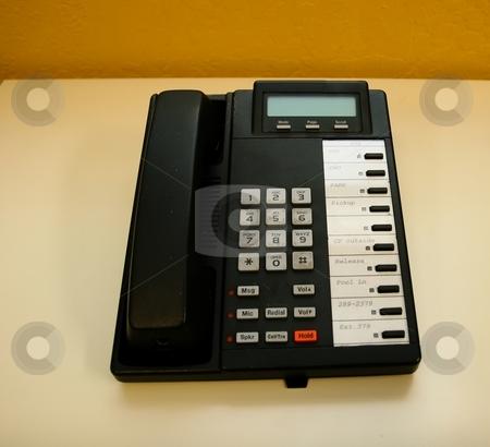 Phone stock photo, Modern multiline office phone by Mariusz Jurgielewicz