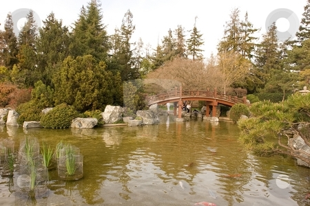 Japanese Friendship Garden stock photo, Japanese Friendship Garden is a walled section of Kelley Park in San Jose, California by Mariusz Jurgielewicz