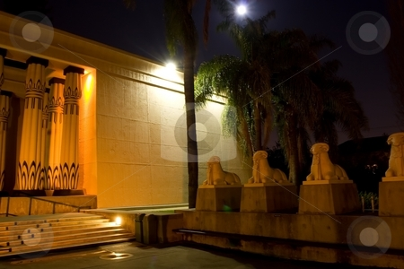 Rosicrucian Egyptian Museum stock photo, Rosicrucian Egyptian Museum (REM), founded by the Ancient Mystical Order Rosae Crucis, is a museum about Ancient Egypt located at AMORC's Rosicrucian Park in the Rose Garden neighborhood of San Jose, California, United States. The Rosicrucian Order continues to support and expand the museum and its educational and scientific activities. by Mariusz Jurgielewicz