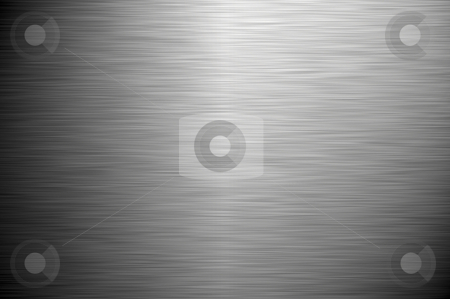 Brushed metal stock photo, Highly detailed image of a brushed metal surface. by Karen Koomans
