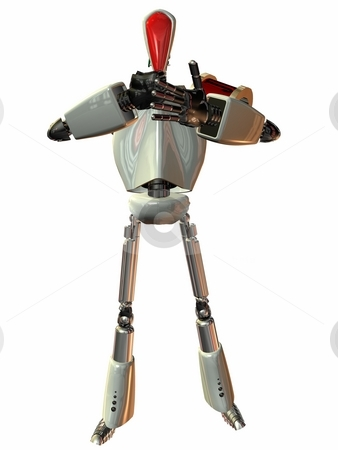 Android stock photo, 3D Render of an Android by Andreas Meyer