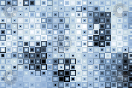 Abstract background stock photo, Abstract background with a pattern of tiles. Illustration. by Karen Koomans