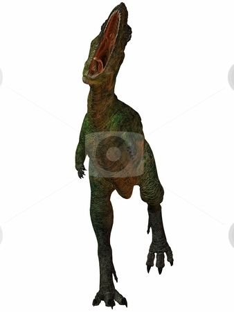 Aucasaurus-3D Dinosaur stock photo, 3D Render of an Aucasaurus-3D Dinosaur by Andreas Meyer