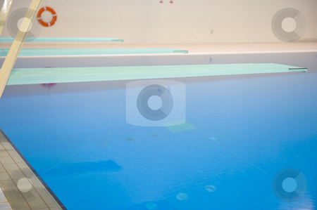 Olympic diving platforms stock photo, Olympic diving platforms at an International sport venue in Doha, Qatar. by Nicolaas Traut