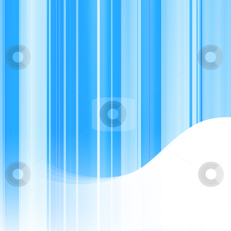Abstract Blue Background stock photo, Abstract blue background with blue lines and a white wave formation for copy space by Khoj Badami