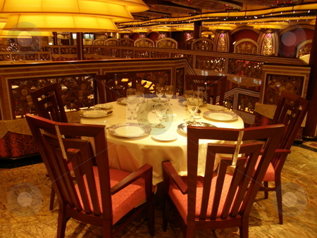 Formal Dining Setting stock photo,  by Ritu Jethani