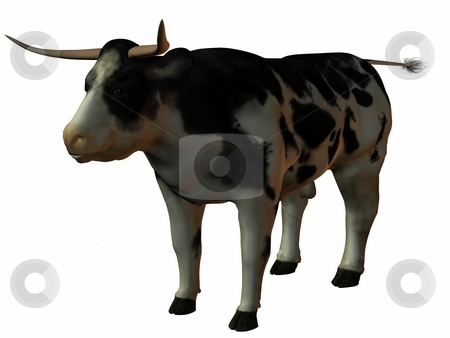 Bull stock photo, 3D Render of an Bull by Andreas Meyer