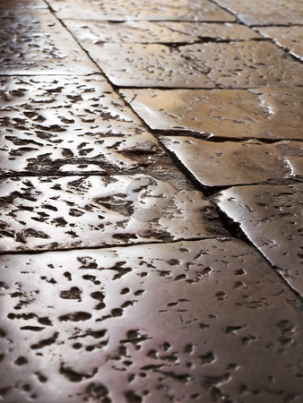 Ancient floor stock photo,  by Sinisa Botas