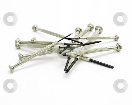 Precise screwdrivers stock photo,  by Sinisa Botas
