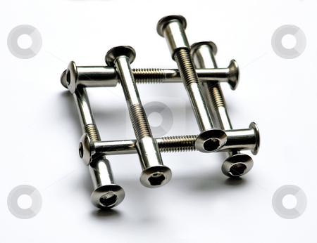 Screws stock photo,  by Sinisa Botas