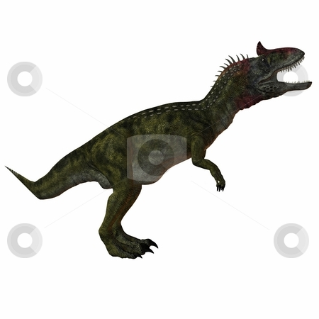 Cryolophosaurus-3D Dinosaur stock photo, 3D Render of an Cryolophosaurus-3D Dinosaur by Andreas Meyer
