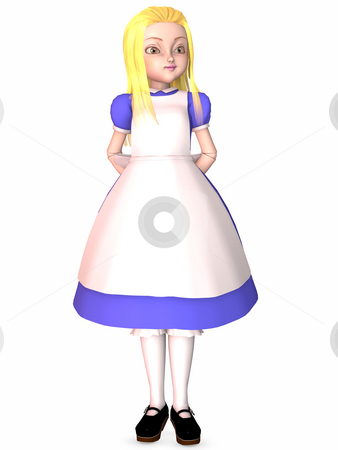 Toon Doll stock photo, 3D Render of an Toon Doll by Andreas Meyer