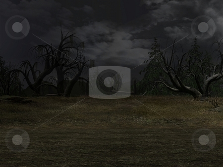 Dark Background stock photo, 3D Render of an Dark Background by Andreas Meyer