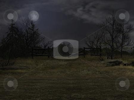 Dark Background stock photo, 3D Render of an Dark Background by Andreas Meyer